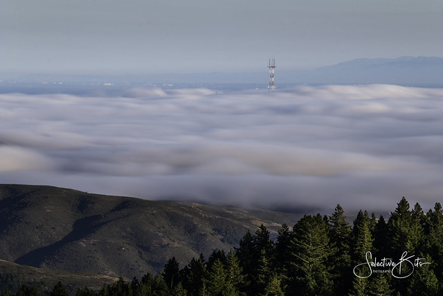 City under the cloud