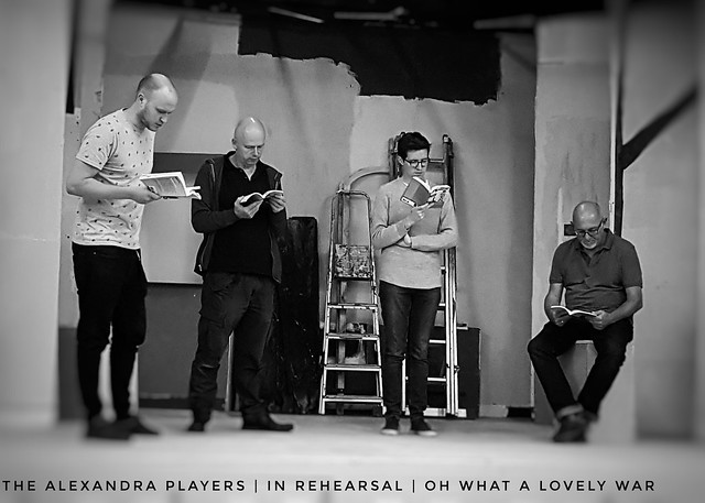 The Alexandra Players | In Rehearsal | Oh What A Lovely War