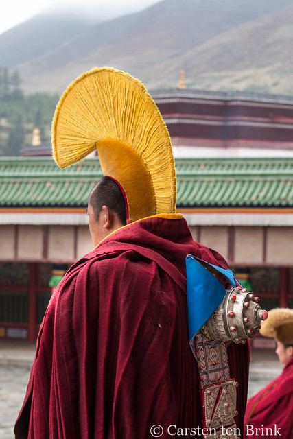 Labrang monastery monk