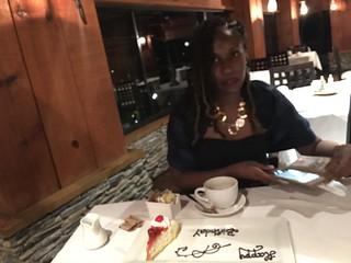 Celebrated MJ's birthday at the Tiki Village.   by Obasi George