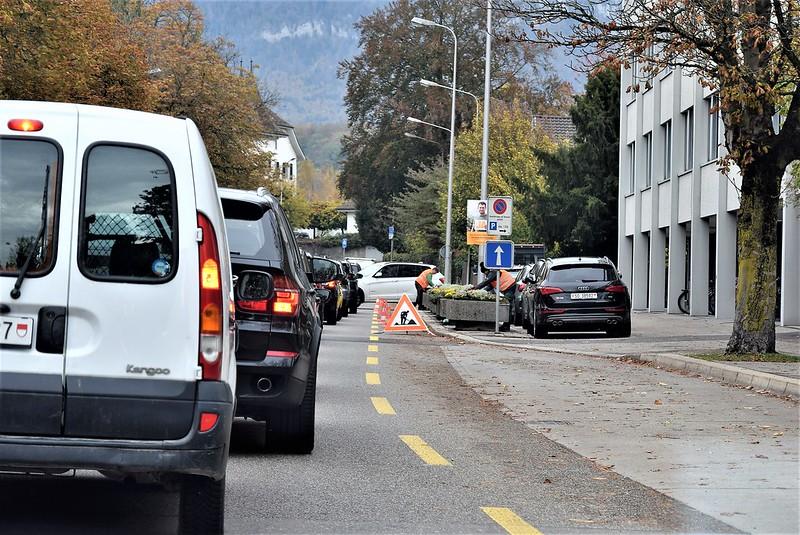 Traffic Jam Werkhofstrasse 31.10.2018