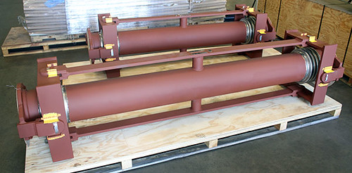 11 Foot Long Universal Gimbal Expansion Joints Designed for an Oil Refinery in Canada