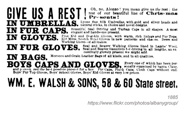 1885 William E Walsh & sons