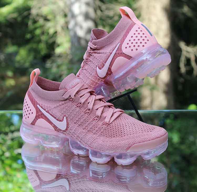 new product f0215 f4d85 Nike Air VaporMax Flyknit 2 Rust Pink 942843-600 Women's S ...