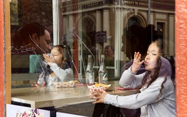 Taqueria reflections - San Francisco, CA