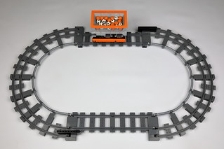 LEGO very narrow train curve | by Berthil van Beek