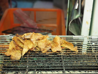 Grilled Squid at Yeh Liu Geo Park Market | by huislaw