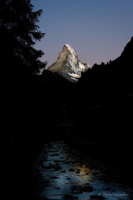 Le mont Cervin depuis Zermatt