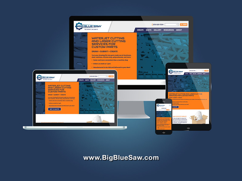 Big Blue Saw Responsive Web Development