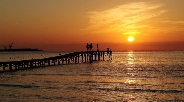 Alcudia majorca spain beach sunrise sept 2018  (12)
