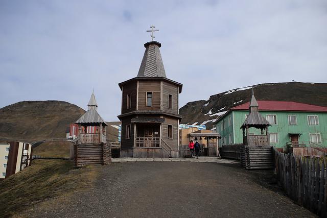 Barentsburg church
