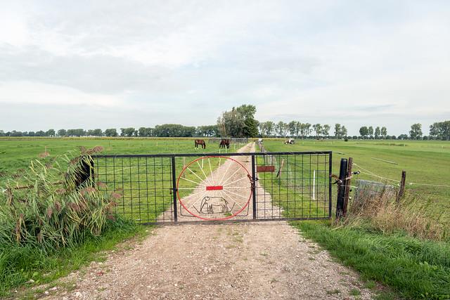 Typical iron fence - Typisch ijzeren hek