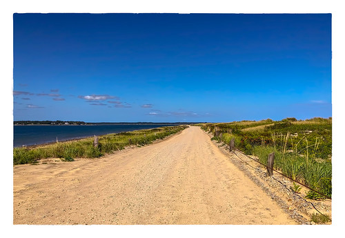 road large sky beach ocean duxbury massachusetts unitedstates us 2018 0918