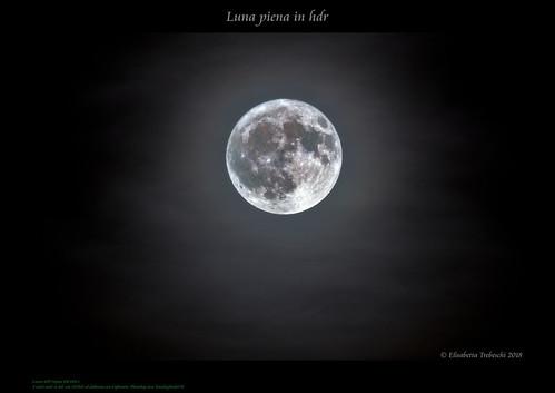 Luna piena in hdr | by AstroBetta