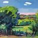 'Pasture', 51x36, Oil on board