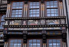 Hildesheim, Niedersachsen, Marktplatz, Wedekindhaus, sciences