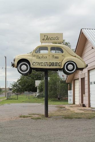 oklahoma harmoncounty harmoncountyoklahoma rural outdoor car vw highway62 hollisoklahoma vwbugonastick sign road sky building signage deansautoairconditioning