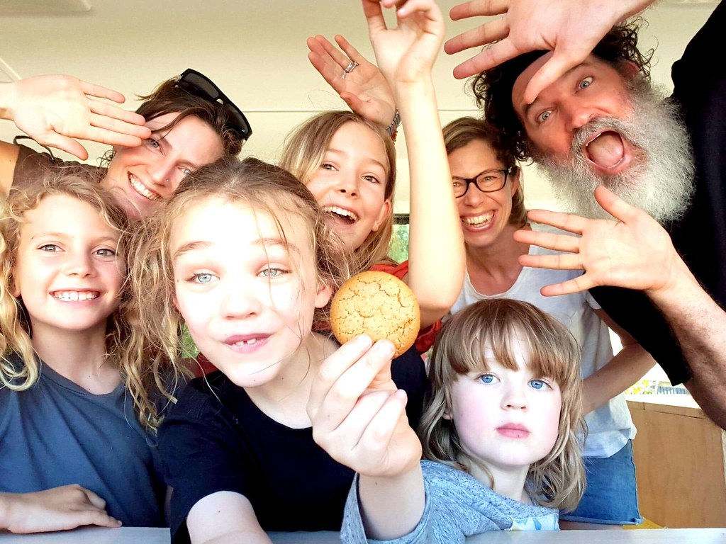 Brisvegas. Boat family. Bus family.
