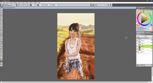 Sayu Corel Painter 2018 XXIV