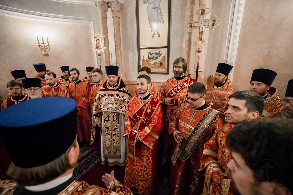 13 ноября 2018, Литургия в Екатериниyском соборе в городе Пушкин / 13 November 2018, the Liturgy in the Cathedral of St. Catherine in Pushkin