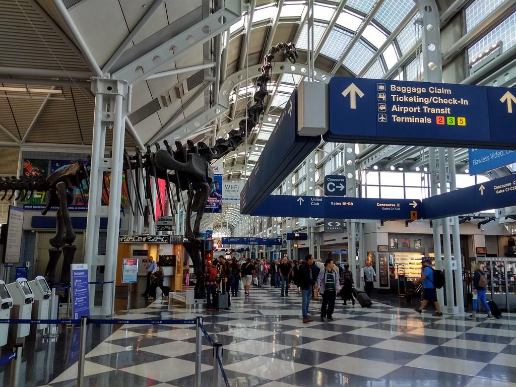 Chicago O'Hare International Airport Terminal 1