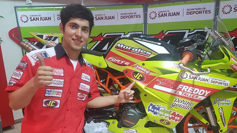 2018-10-08 DEPORTES Cinco sanjuaninos correrán en una de las categorías teloneras del Superbike1