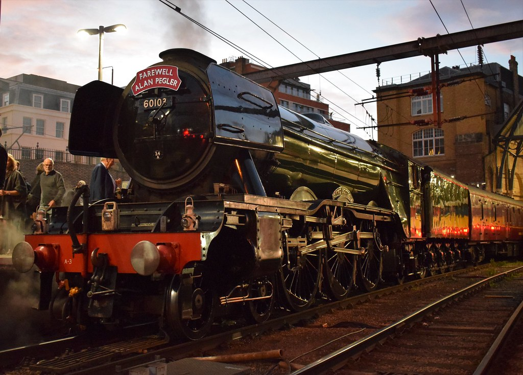 LNER Class A3 Pacific No 60103 'Flying Scotsman' | Awaiting
