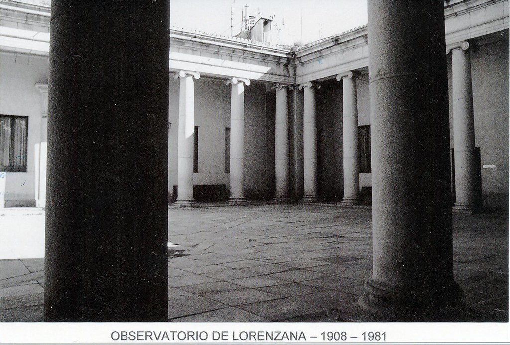 Instituto de Toledo, sede del Observatorio Meteorológico de Lorenzana en 1966. . Colección de Fernando Aranda.