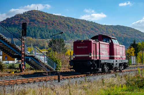 213 334-6 Tfzf durch Walldorf (Werra) am 20.10.2018 | by Photography Sebastian Winter