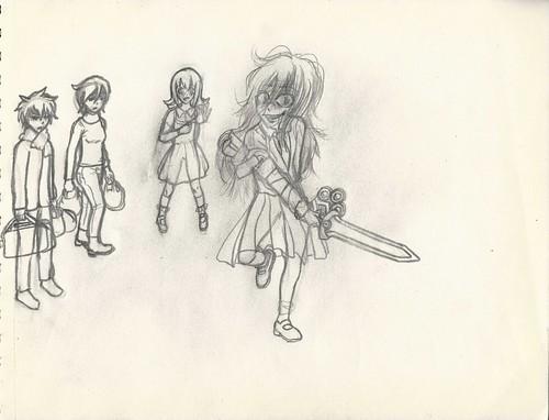 Kuroko III rough draft