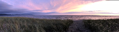 Lake Superior Park sunset panorama | by Pierre Yeremian