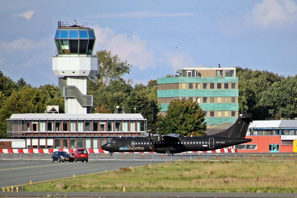 AlsieExpress OY-CLZ Groningen Airport Eelde