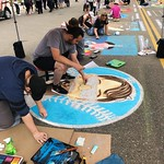 Wendy Sell - Artists at Chalk Festival