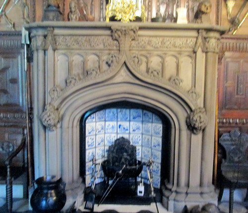 Abbotsford Fireplace, Sir Walter Scott, Abbotsford