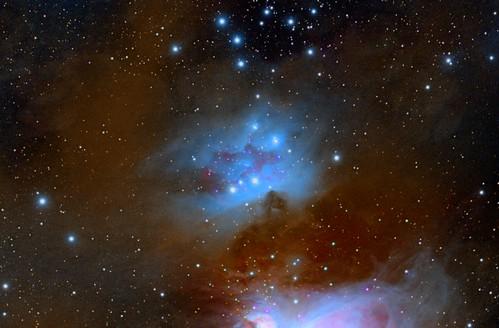 """Туманность NGC1977 """"Бегущий Человек""""_var3   by QNGW2WATGK3DNY35FFXMP6OUNM"""