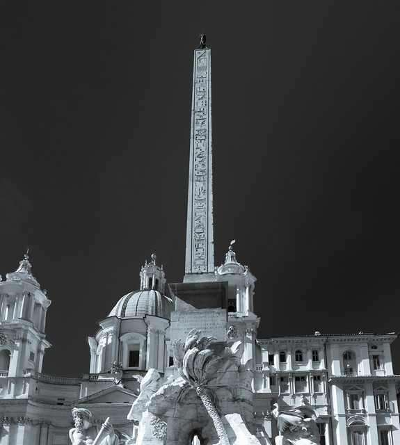 Fountain of the Four Rivers - Piazza Navona - Rome - Italy