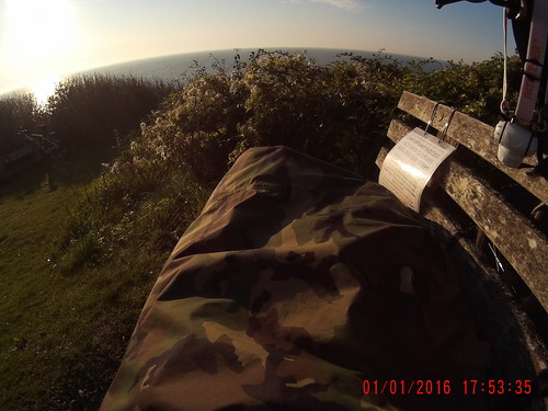 Bivy Wildcamp Eastbourne uk   by Wholly Spokes