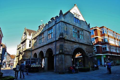 europe england shropshire shrewsbury outdoor architecture historicbuilding sunlight streetview simplysuperb blueskies