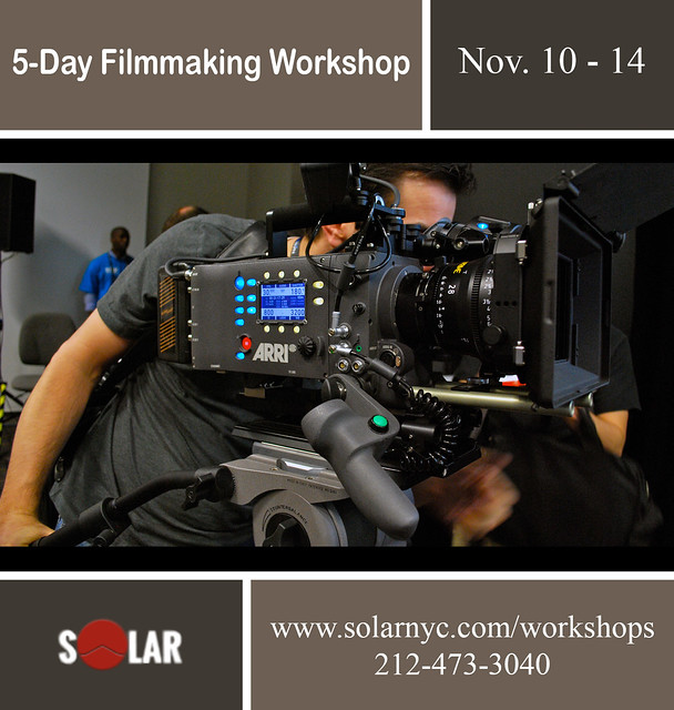 5-Day Filmmaking Workshop