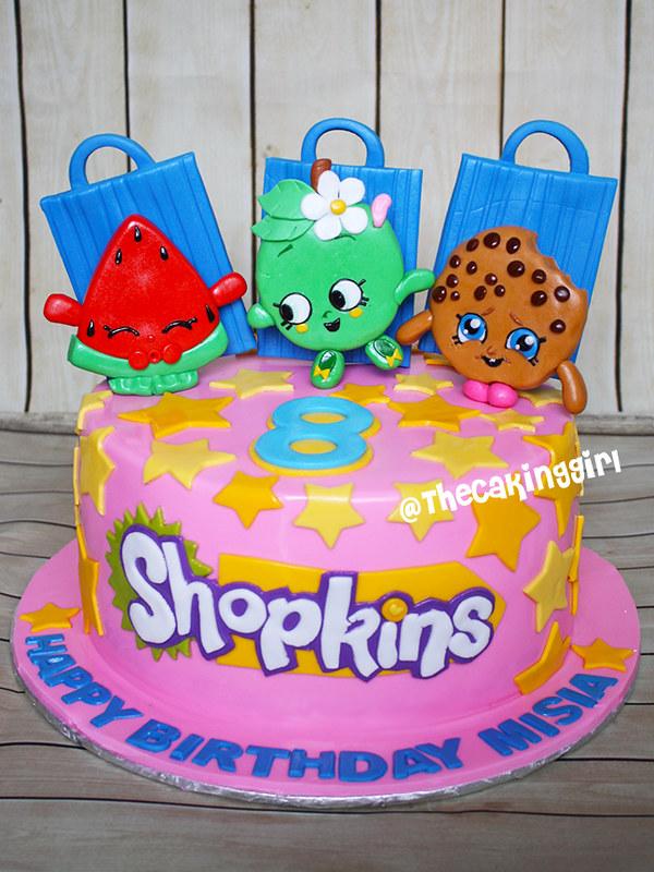 Shopkins Cake Www Facebook Com Thecakinggirl Thecakinggirl Ca Flickr