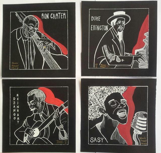 Cuatro grandes del Jazz