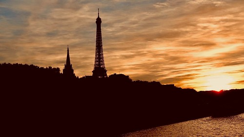 Night falls over Paris | by joanne clifford