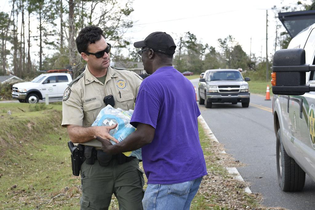 Post-storm wellness check, Jackson County, Florida