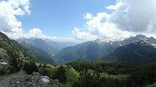 View from the Qafa e Thorës / Qafe e Terthores / Qafe e T'thores / Thore Pass | by Mary Loosemore