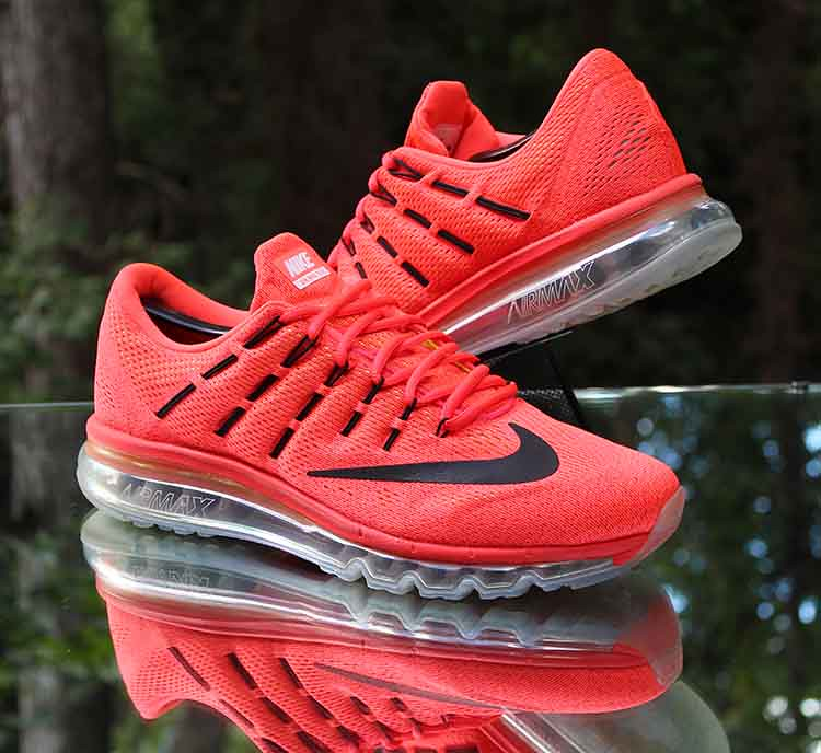 cf75ed0eb5 ... Nike Air Max 2016 Bright Crimson 806771-600 Men's Running Shoes Size 11    by