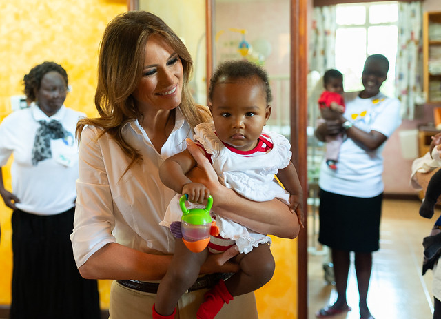 First Lady Melania Trump's Visit to Africa