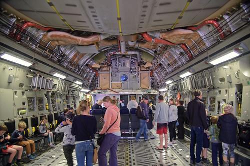 newzealand canterbury christchurch usaf usairforce internationalairport usap c17 globemaster airplane plane aircraft visit antarcticairday nikond810a nikon24120mmf4 inside explore