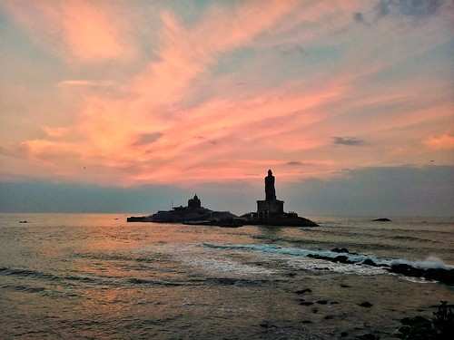 morning kanyakumari india tamilnadu travel sea beachsinindia tnturismo