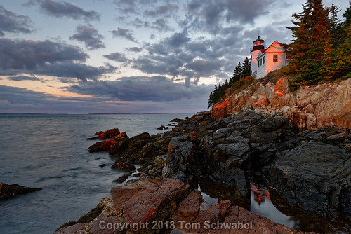 maine ocean acadia lighthouse acadianationalpark coastline atlantic rocks seascape usa water scenic light rocky building shore newengland landmark landscape bassharbor rugged tranquil nationalpark maritime clouds architecture guidance navigation sunrise reflection usnationalpark