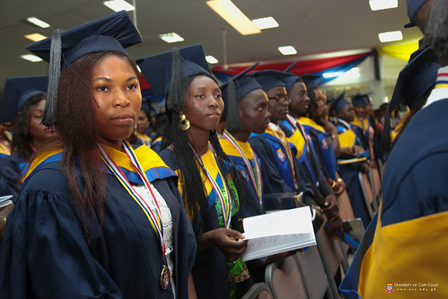 A cross section of graduands